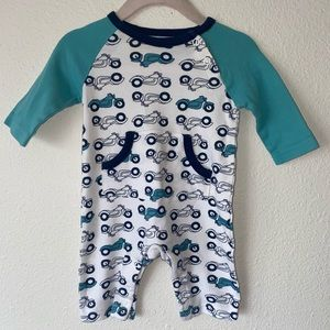 Dwell studio motorcycle baby outfit 3m Boys